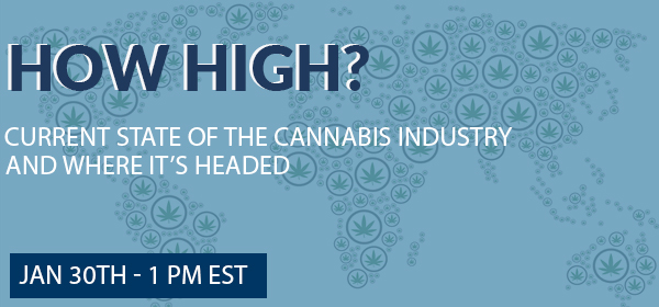 Cannabis Insurance Webinar on January 30, 2019